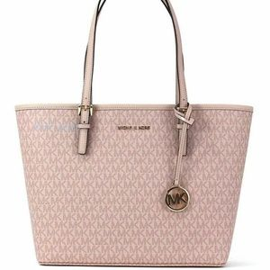 Michael Kors Jet Set Travel Carryall MK Pink Tote